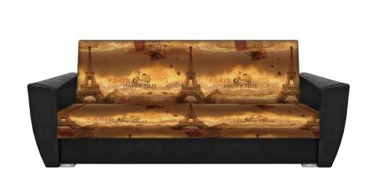 "Диван-книжка фото-принт ""Париж люкс 2"""